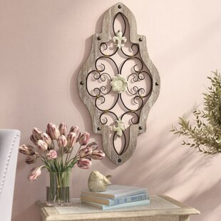 Charming French Scroll Wall Décor