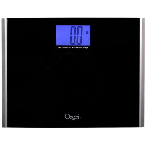 Precision Pro II Digital Bath Scale (440 lbs Capacity) with Weight Change Detection Technology by Ozeri