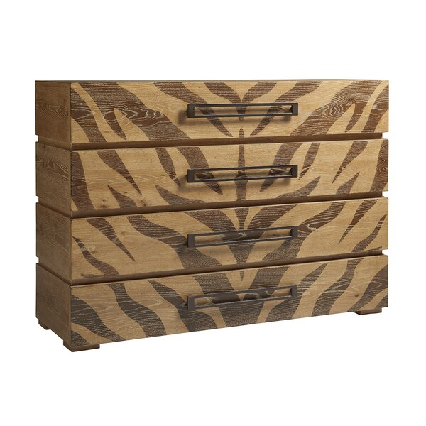 Los Altos 4 Drawer Accent Chest by Tommy Bahama Home