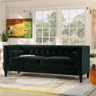 Pineview Tuxedo Chesterfield Sofa  by Mistana