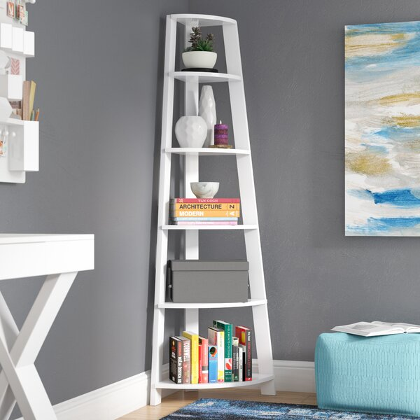 Hewitt Corner Bookcase by Breakwater Bay
