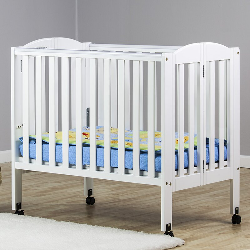 2 In 1 Portable Folding Convertible Crib