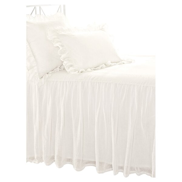 Abrielle Linen Single Coverlet