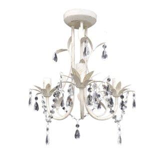 Modern contemporary chandeliers wayfair 3 light chandelier aloadofball Images
