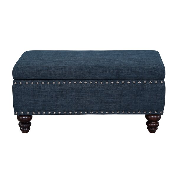 Camarillo Tufted Storage Ottoman by Charlton Home