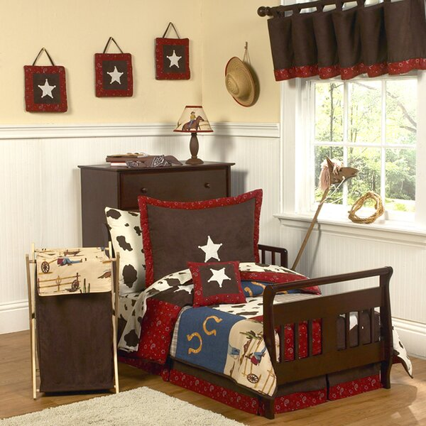 Wild West Cowboy 5 Piece Toddler Bedding Set by Sweet Jojo Designs