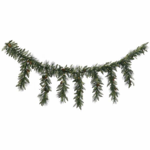 Vallejo Mixed Pine and Berry Icicle Garland by The Holiday Aisle