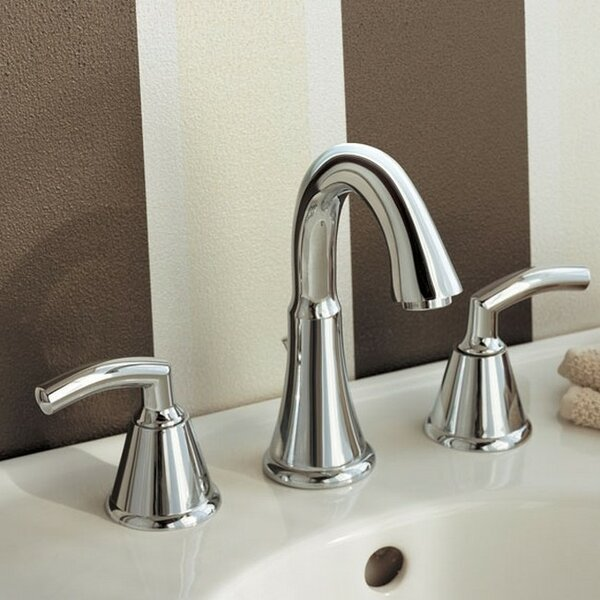 Tropic Widespread Bathroom Faucet with Drain Assembly by American Standard