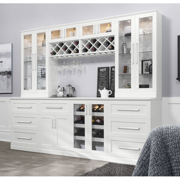 Home Bar 7 Piece Shaker Style by NewAge Products