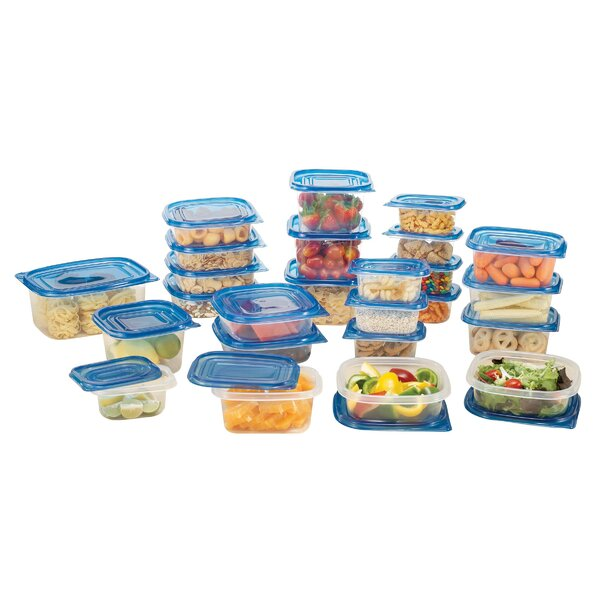 25 Container Food Storage Set with Lids by Rebrilliant