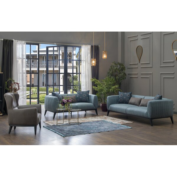 Cheap Lofty 3 Piece Living Room Set By Corrigan Studio ...