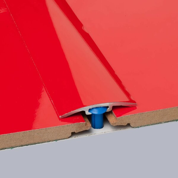 0.25 x 1.5 x 35.5 T-Molding in Red by ELESGO Floor USA