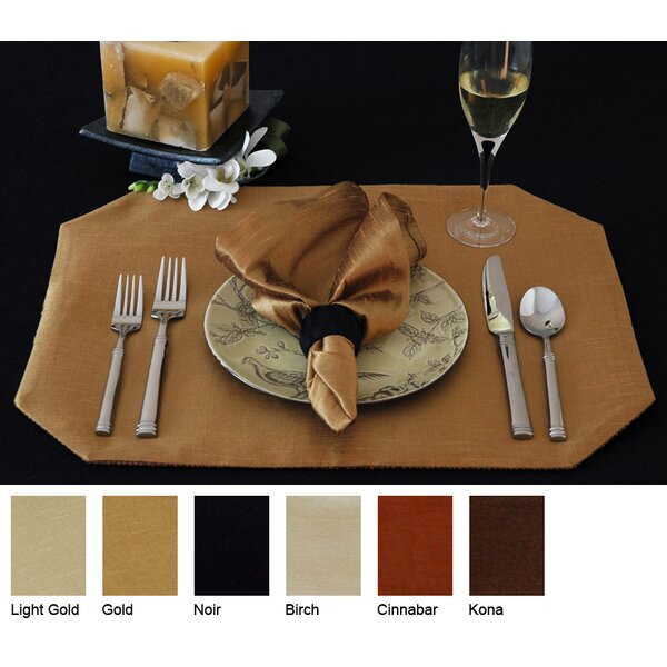 Luscious Reversible Wedge Placemat (Set of 2) by Pacific Table Linens