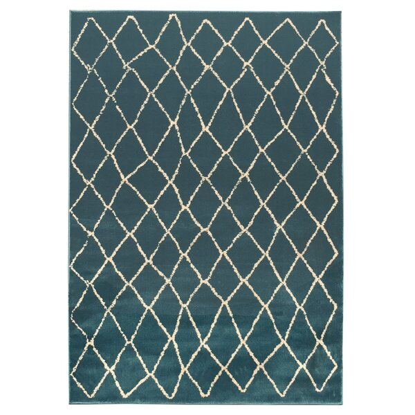 Torgerson Teal Blue Outdoor Area Rug by Union Rustic