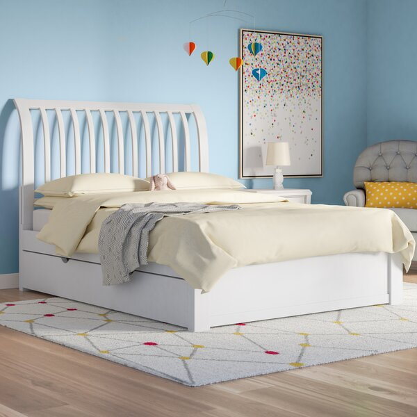 Granville Rake Sleigh Bed with Trundle by Three Posts Baby & Kids
