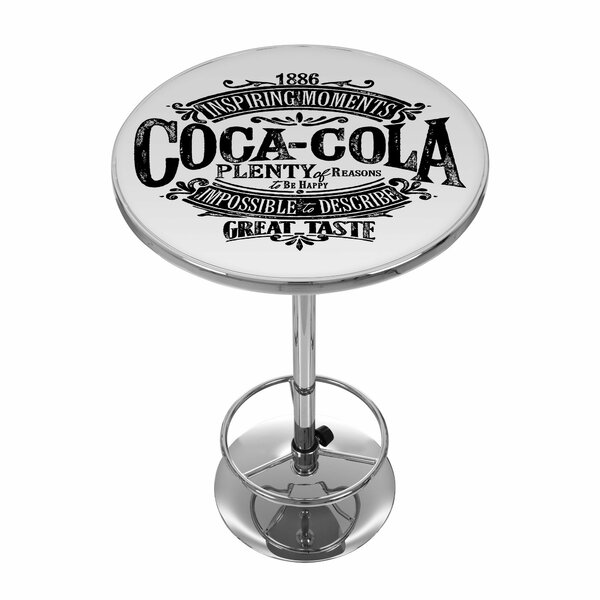 Coca Cola Brazil 42 Pub Table by Trademark Global