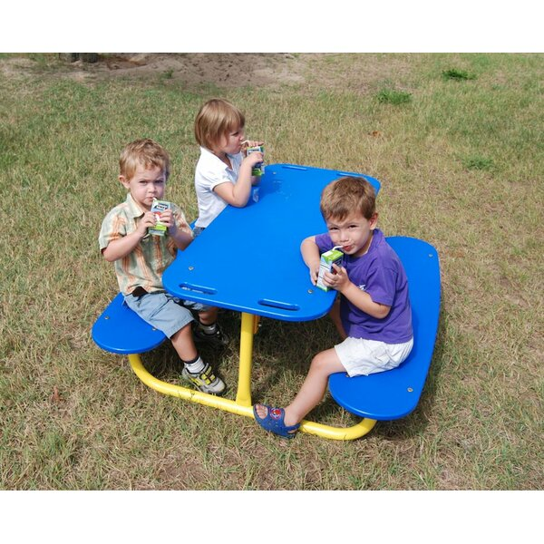 Rectangular Picnic Table by Kidstuff Playsystems, Inc.