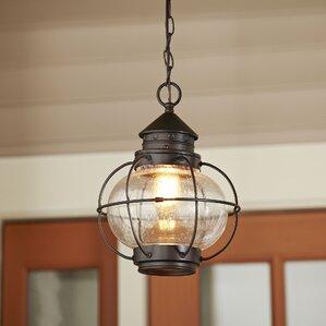 Hanging lantern light indoor wayfair hastings outdoor hanging lantern mozeypictures Choice Image