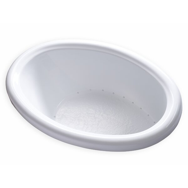 Hygienic Air 58 x 39 Bathtub by Carver Tubs