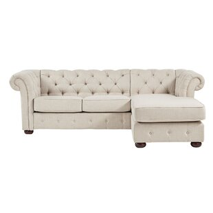 Brockway Chesterfield Sofa Chaise