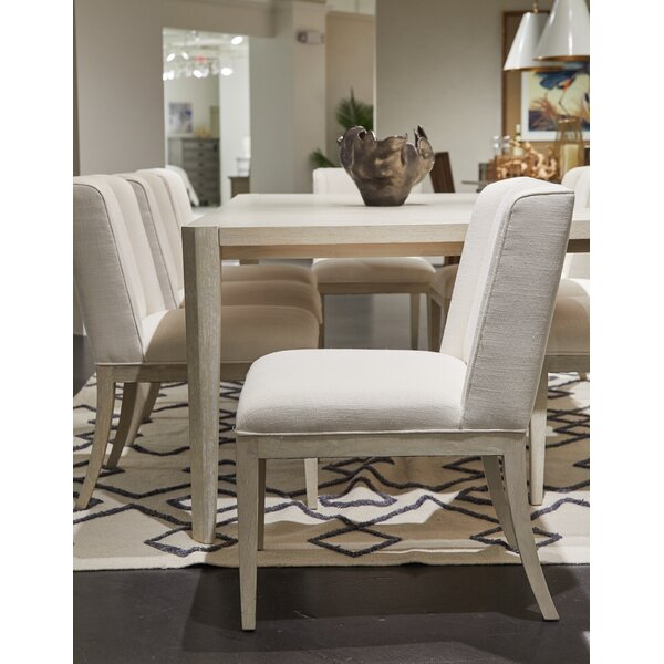 Solid Wood Side Chair In Mist (Set Of 2) By Stanley Furniture