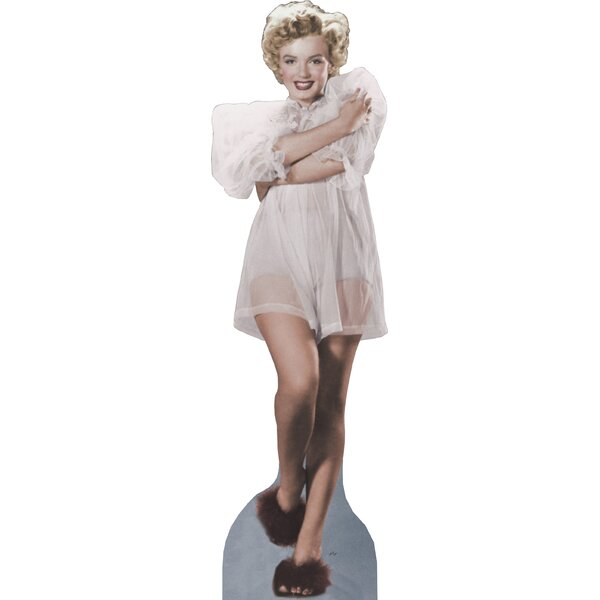 Hollywood Marilyn Monroe - Nightie Life-Size Cardboard Stand-Up by Advanced Graphics
