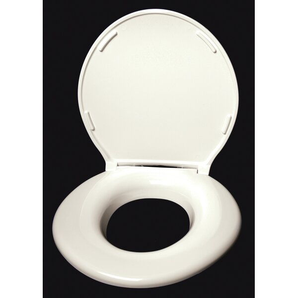 Closed Front Round Toilet Seat by Big John