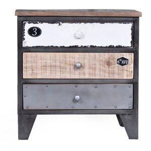 nachttische farbe schwarz holzart mango. Black Bedroom Furniture Sets. Home Design Ideas