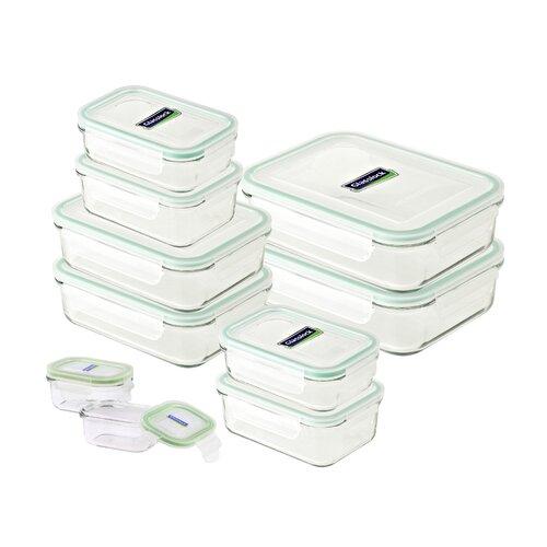 10-tlg. Frischhaltedosen-Set Glasslock | Küche und Esszimmer > Aufbewahrung | Glasslock