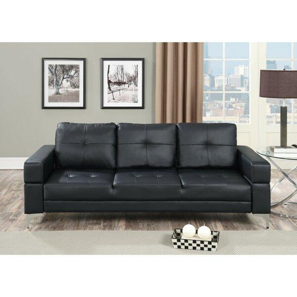 Holiday Buy Chau Movable Armrest Adjustable Sofa by Ebern Designs by Ebern Designs