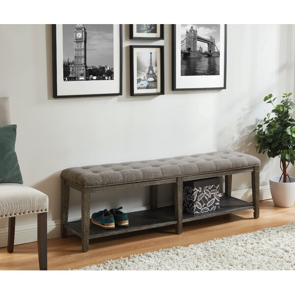 Emilio Upholstered Storage Bench by Gracie Oaks