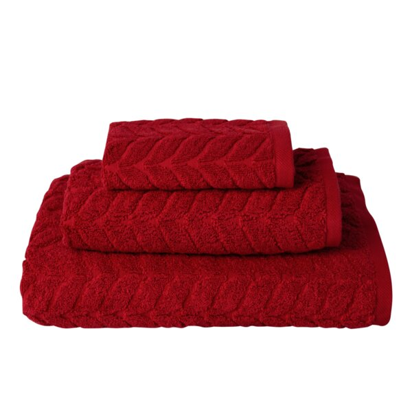 Kerr 3 Piece Turkish Cotton Towel Set by Wrought Studio