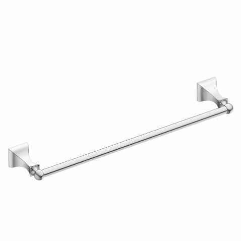 Retreat 18 Wall Mounted Towel Bar by Moen