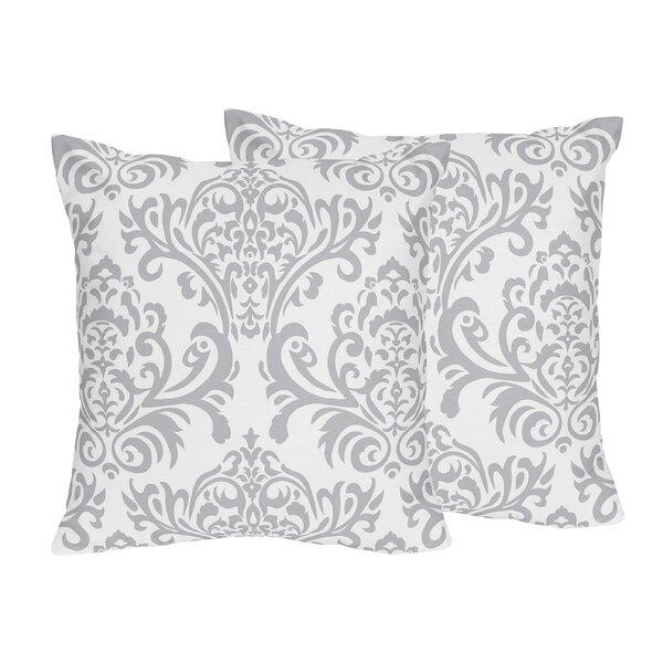 Skylar Cotton Throw Pillow (Set of 2) by Sweet Jojo Designs