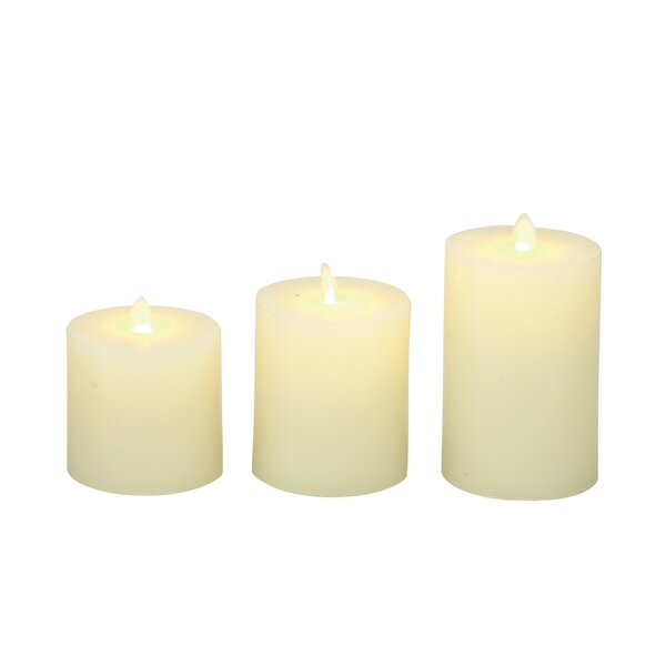 3 Piece Flameless Candle Set by Cole & Grey