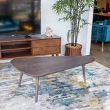 Fulkerson Solid Wood 3 Legs Coffee Table by George Oliver