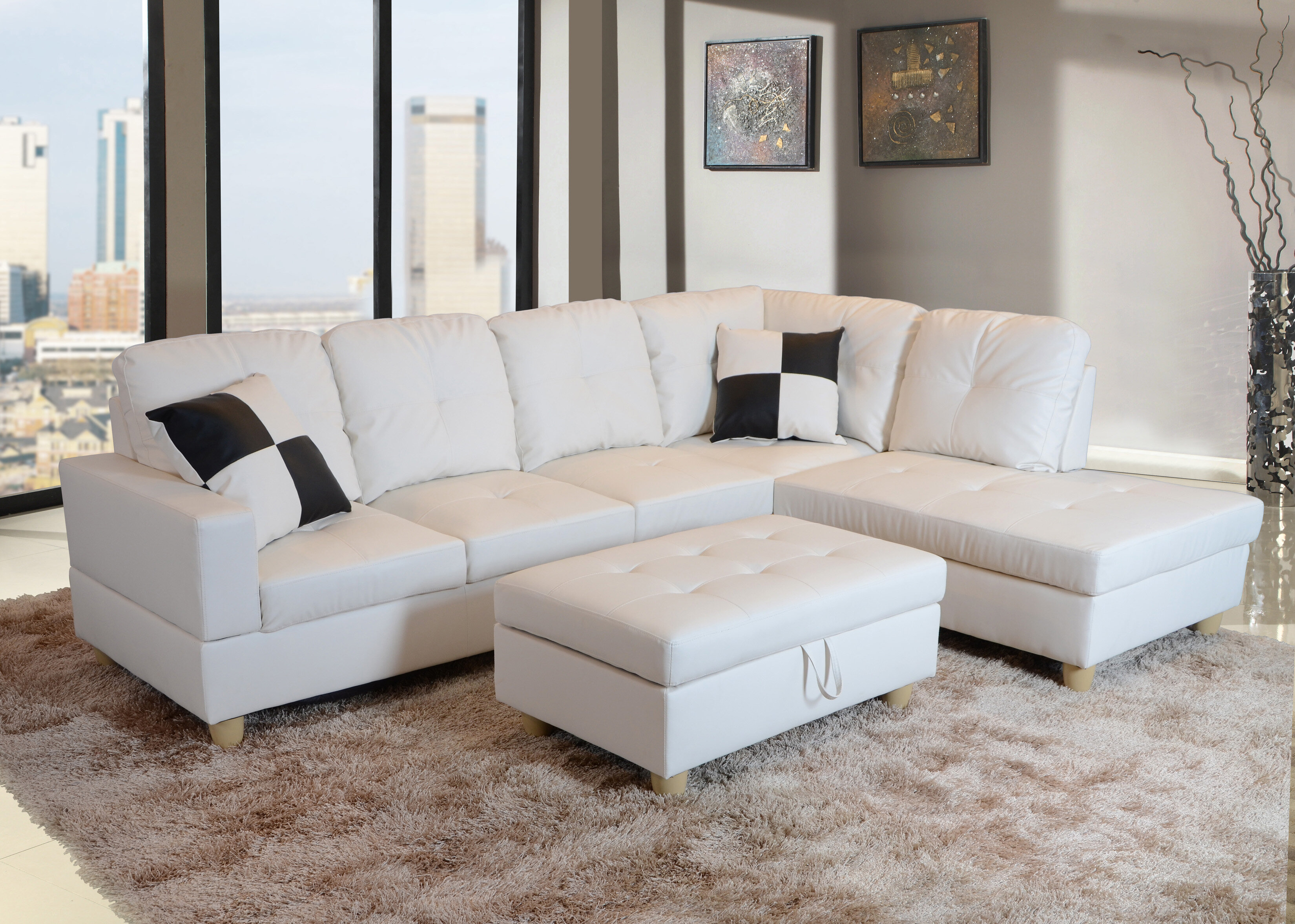 Remarkable Maumee Sectional With Ottoman Machost Co Dining Chair Design Ideas Machostcouk