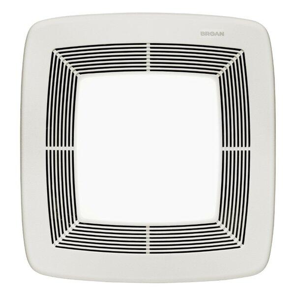 Ultra X2 110 CFM Energy Star Multi-Speed Series Ceiling Fan Light by Broan