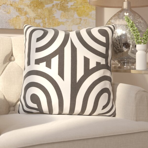 Enedina Sphere Cotton Throw Pillow by Everly Quinn