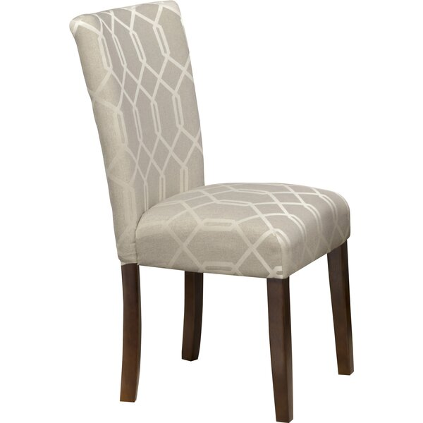 Feldman Upholstered Parsons Chair (Set of 2) by Lo