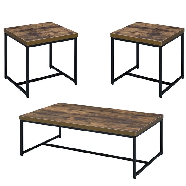 Cerie 3 Piece Living Room Table Set by Foundry Select Foundry Select