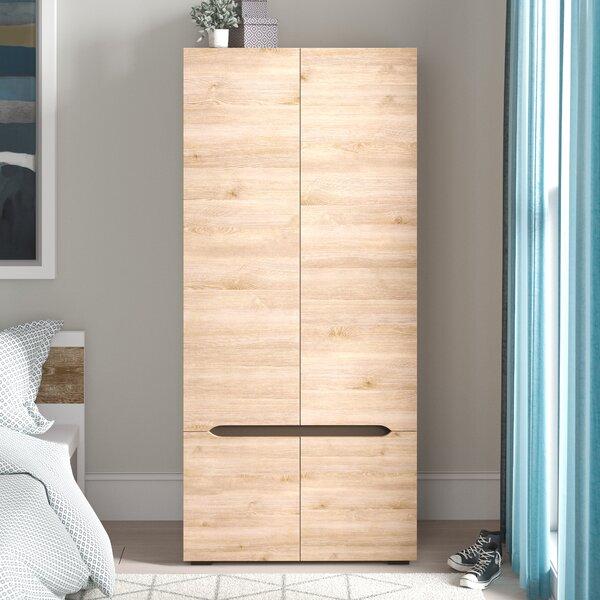 Brokaw Storage Closet Wardrobe Armoire by Trule Teen