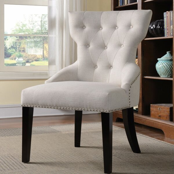 Printers Row Suavely Cultured Side Chair by Charlton Home