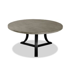 Louisa Modern Rounded Dining Table by Gracie Oaks