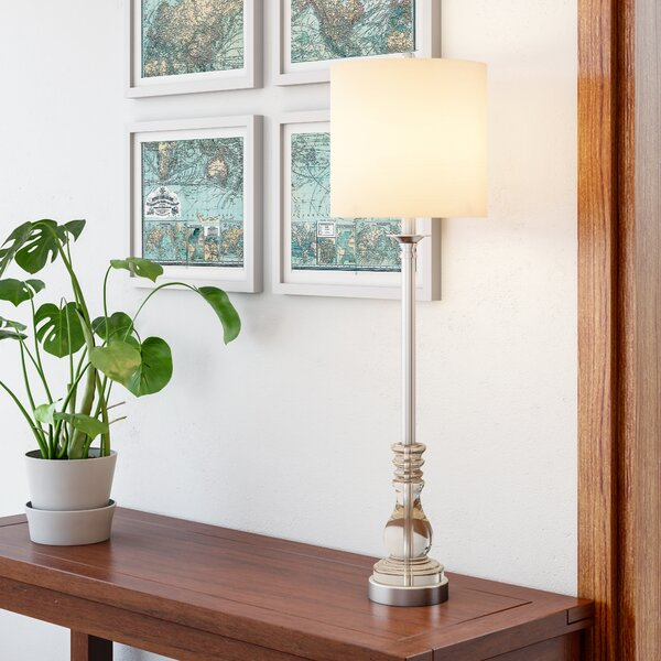 Jamison 33 Buffet Lamp by Three Posts
