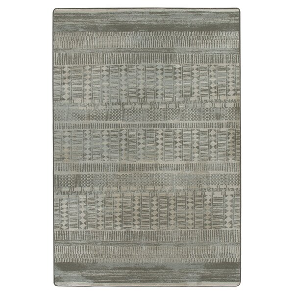 Tate Graystone Area Rug by Bungalow Rose