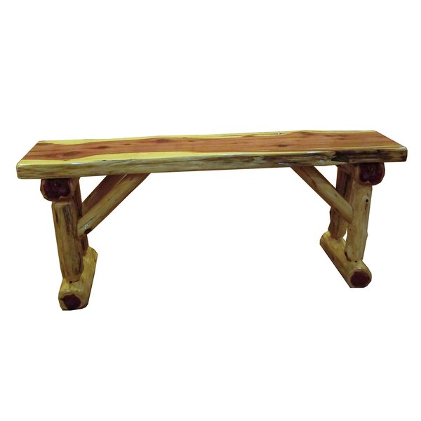 Gorham Cedar Wood Bench by Loon Peak