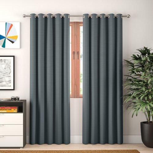 Essie Eyelet Blackout Thermal Curtains Zipcode Design