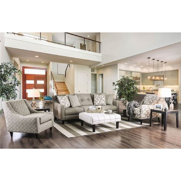 Stefano Configrauble Living Room Set by Charlton Home