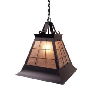 Find for Top Ridge 1-Light Outdoor Pendant By Steel Partners